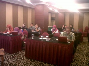 Peserta Pelatihan Internet Marketing