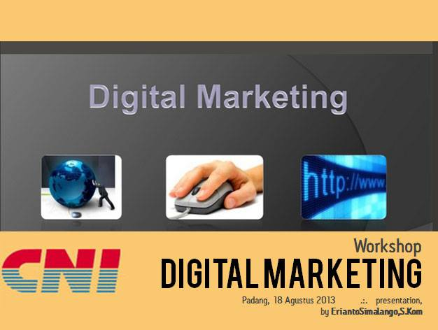 Pelatihan Digital Marketing di Padang