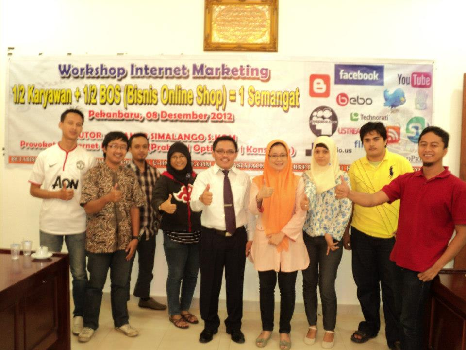 Workshop Internet Marketing 1/2 Karyawan + 1/2 Bos