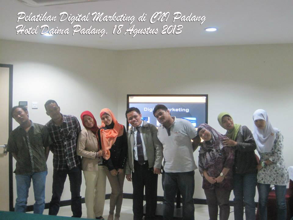 Pelatihan Digital Marketing di Padang