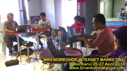 Workshop Internet Marketing di Pekanbaru