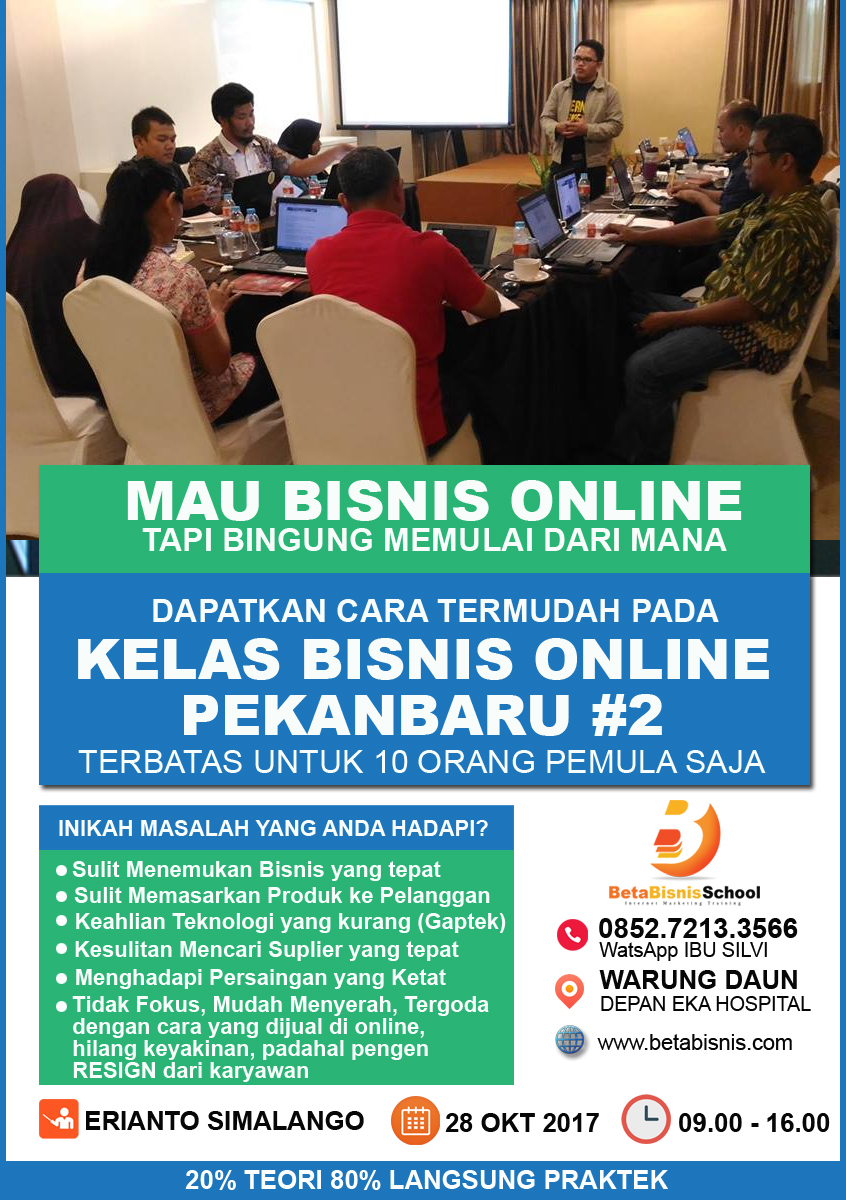 internet marketing oktober 2018 Erianto Simalango