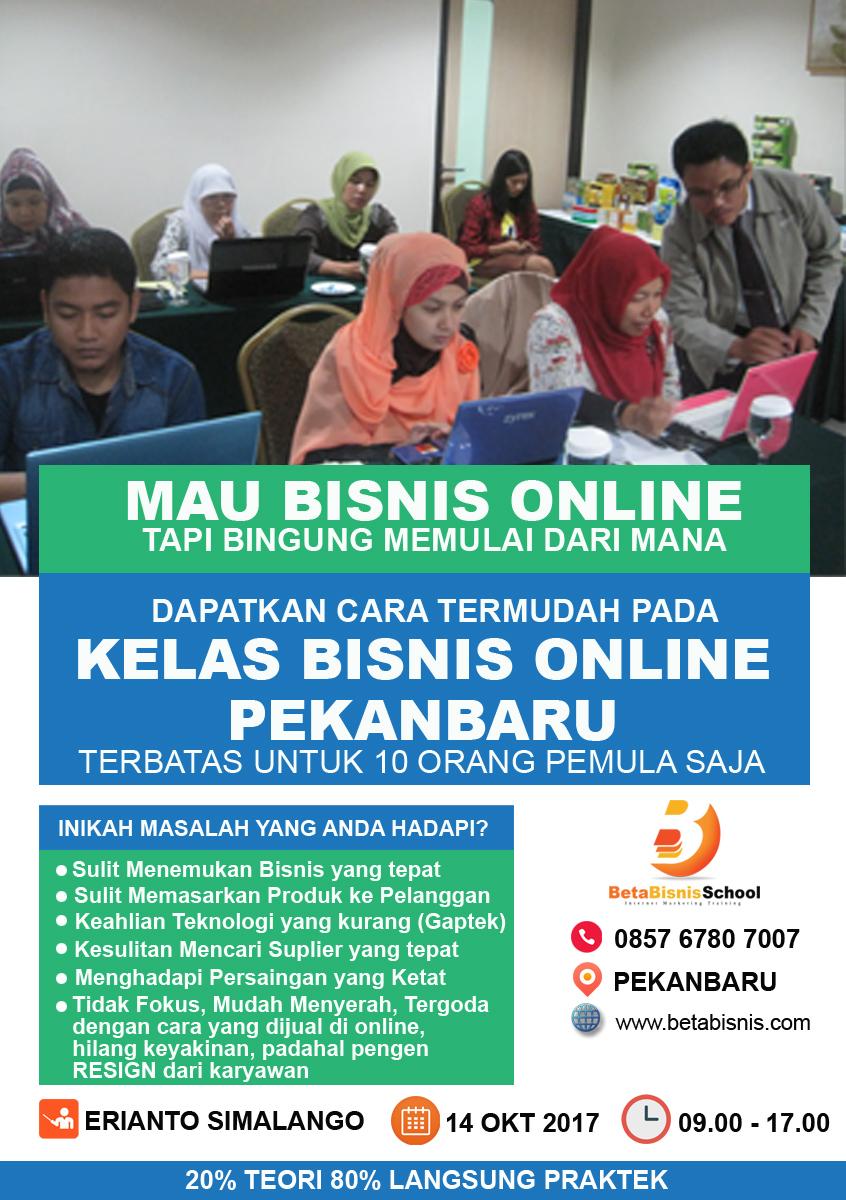 Kelas Bisnis Online di Pekanbaru untuk Pemula