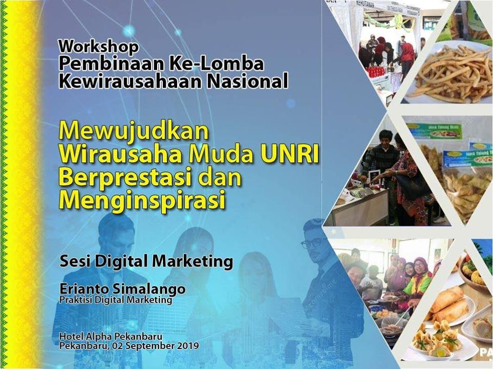 Pelatihan Digital Marketing untuk UMKM Pekanbaru