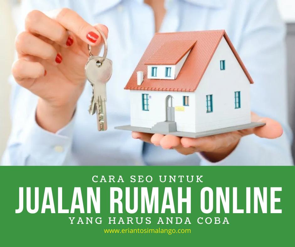 Cara Menjual Rumah Via Online